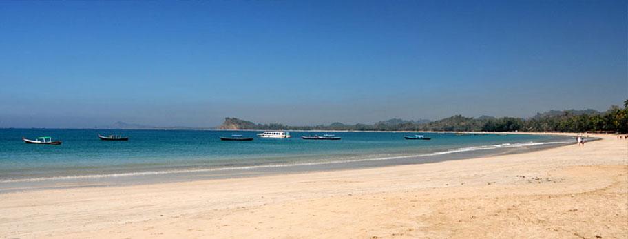 Ngapali Strand Burma Badeferien buchen