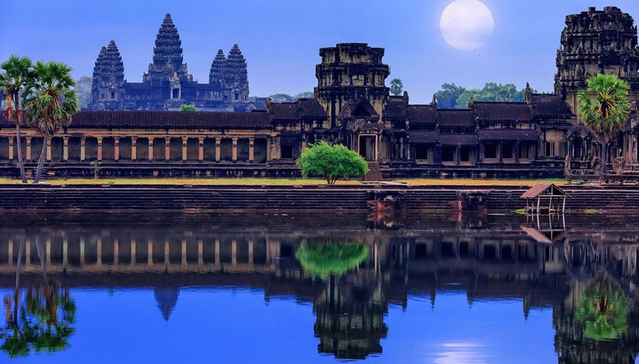 Angkor Wat Tempelanlage Reisen günstig buchen