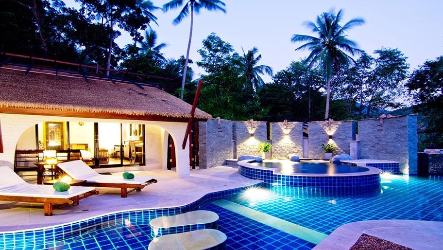 Asien Honeymoon Luxusresort Poolvilla günstig