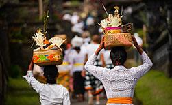 Lokalbevölkerung Bali, Essen Bali