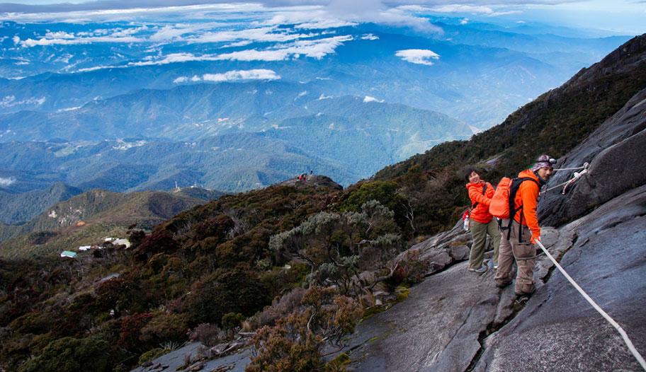 Mount Kinabalu Borneo Bergsteiger Spezialist Reisen