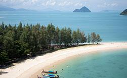 Insel Koh Phayam Thailand Triangle Beach
