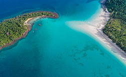 Unberührte Insel Thailand Koh Kood Traumstrand