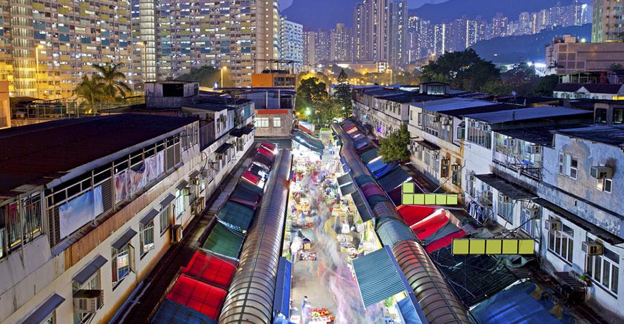 Hongkong Märkte