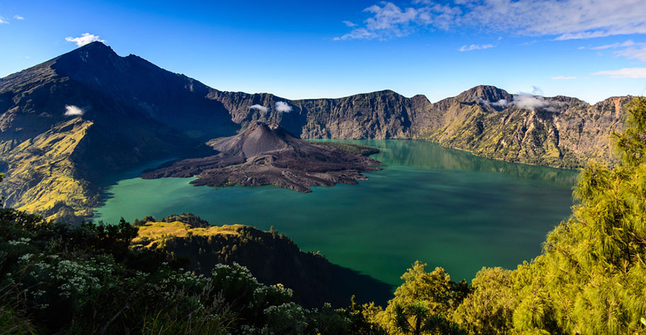 Mount Rinjani Indonesien Lombok