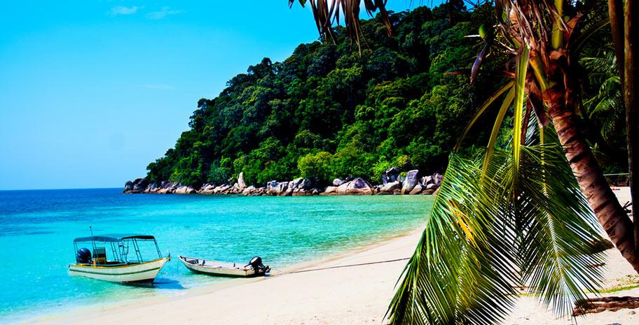 Perhentian Islands Malaysia schönster Strand