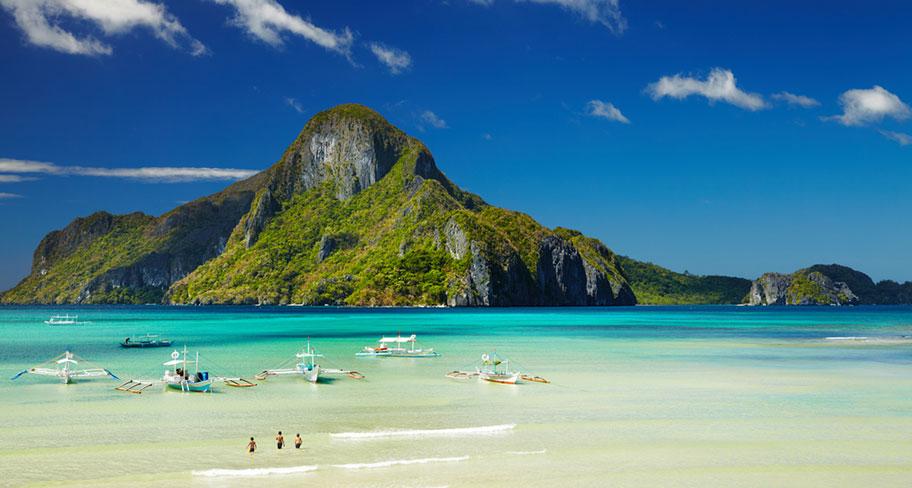 El Nido bei Palawan Philippinen - Wunderschöne Strände und Inseln