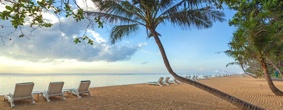 Sanur Beach Bali Ferien