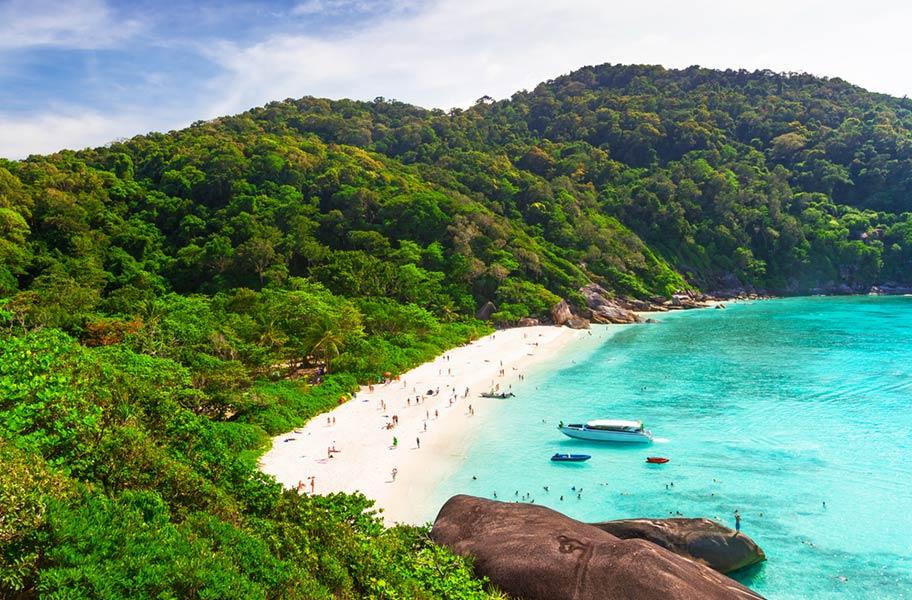 Schnorcheln Similan Islands traumstrand sand korallen