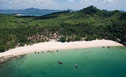 Insel Koh Muk Thailand der schönste Strand