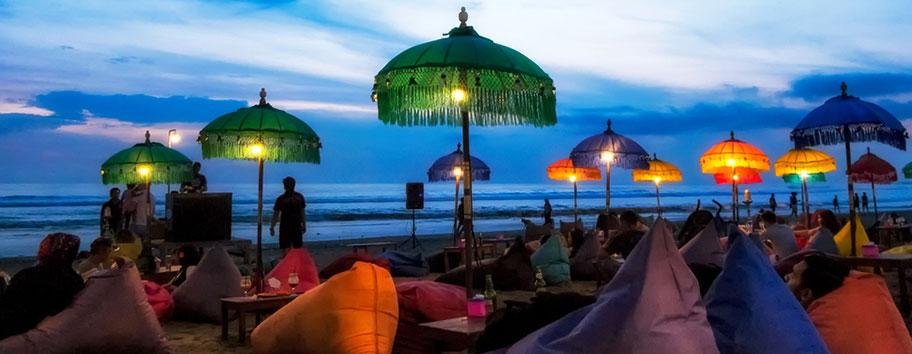 Seminyak Bali Ferien Strand
