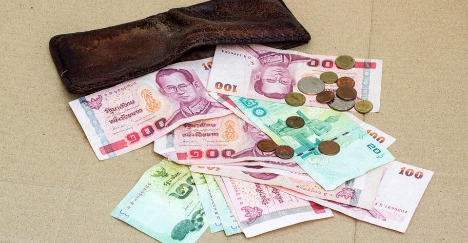 Thailand Reiseinformationen Währung Baht in Noten