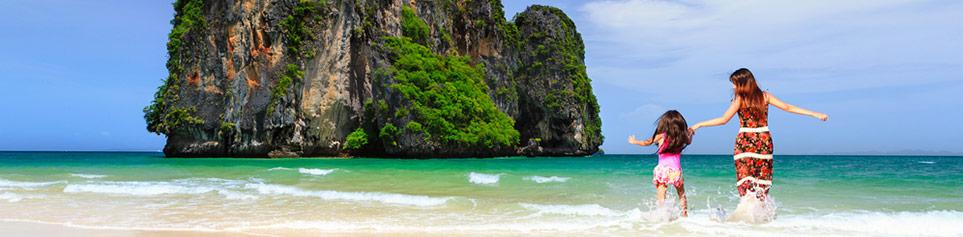 Thailand Ferien mit Kindern buchen