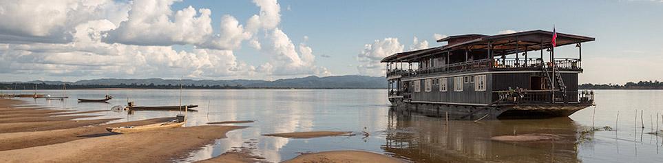 Mekong Flussfahrten