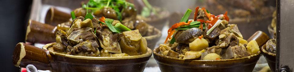 Hongkong Märkte Streetfood